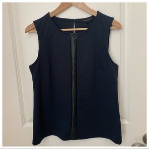 Banana Republic Small Tank Top Navy Blouse